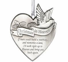 in heaven memorial ornament