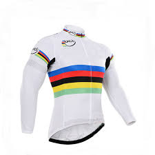 windproof cycling jackets mens mens uci rainbow chion 2018 cycling mtb winter fleece thermal