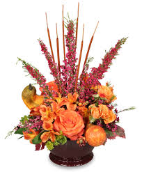 homecoming harvest arrangement in cavalier nd