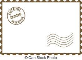 empty blank postcard template white empty postcard template