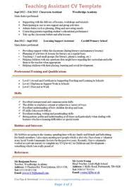 Teacher Job Resume Sample by Teacher Assistant Resume Writing Http Jobresumesample Com 420