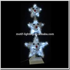 lighted christmas hanging stars decoration lighted christmas