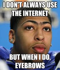 Anthony Davis Memes - ok so not toronto sports but this picture of anthony davis is too