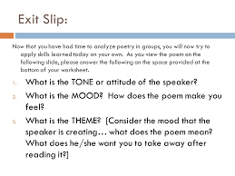 poetry day two ppt download