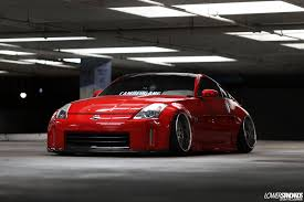 bagged nissan car edgar u0027s bagged 2006 350z lower standardslower standards