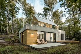 a modern house in nature design milk