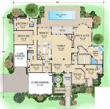 4 bedroom 1 story house plans european style house plans plan 63 318