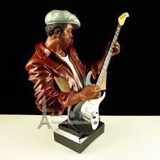 american jazz band guitarist figurine resin guitar