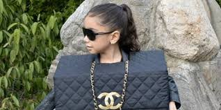 kids dressed up as chanel bags will put other trick or treaters to