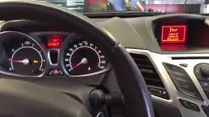 Ford Escape Dashboard - how to reset oil change reminder on 2012 ford fiesta youtube