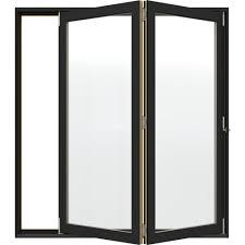 Jeld Wen Room Divider Jeld Wen W 4500 Series Left Hand Folding Wood Patio Door