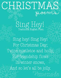 free christmas poems