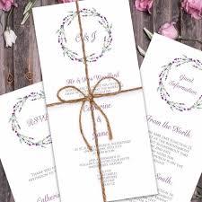 lavender wedding invitations lavender wedding invitation paper themes wedding invites