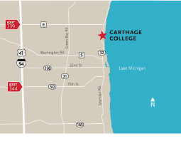 Chicago Colleges Map by College Directory U2014 Carthage College