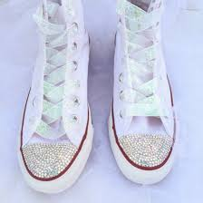 wedding shoes converse shoes rhinestones rhinestones rhinestone converse wedding