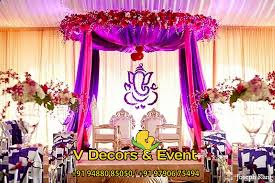 pin by wedding decorators on reception decorations in pondicherry