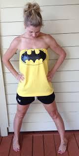 women u0027s yellow batman tube top shirt dress m 32 00 via etsy