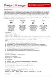 project manager resume project manager resume template chappedan us