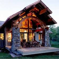 modern but rustic cabin design pictures photos and images for