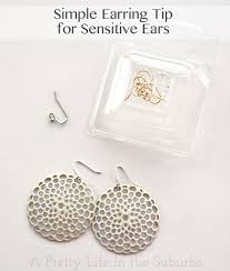 sterling silver earrings for sensitive ears trade out cheap earing wires to sterling silver or gold plated ear