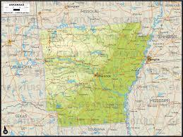 Canada Physical Map 29 Unique Arkansas Physical Map Afputra Com