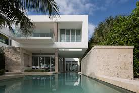 private residence at biscayne bay miami beach florida usa by