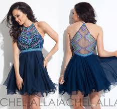 halter rhinestone homecoming dresses real image crystal a