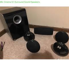 jbl home theater system used jbl cs480 home theater speakers for sale in buy it now or