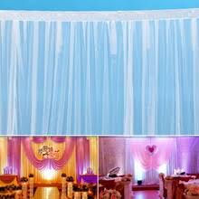 Curtains Wedding Decoration Online Get Cheap White Wedding Backdrop Curtain For Wedding Props