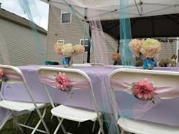 scrapbook with chair decorations