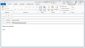 Subject For Sending Resume Through Mail The Vba Guide To Sending Excel Attachments Through Outlook U2014 The