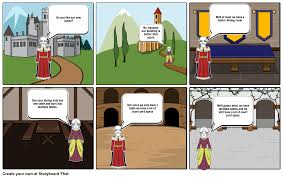 renaissance cartoon storyboard by farmerk