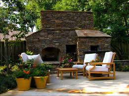 outdoor fireplace with pizza oven spaces traditional with outdoor