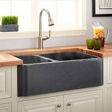 double bowl farmhouse sink with backsplash perfect sink choices for your kitchen countertops backsplash