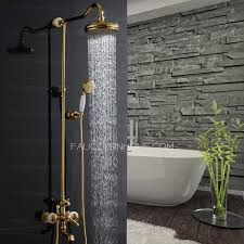 Bathroom Shower Handles Luxury Brass Jade Outdoor Bathroom Shower Heads And Faucets