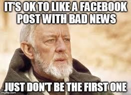 Facebook Post Meme - obi wan kenobi meme imgflip