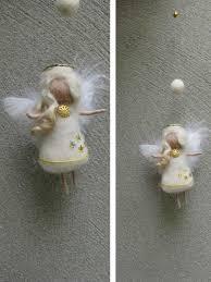 little christmas angel needle felted grandmother inspiration