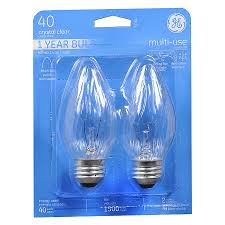 Ge Light Fixture Ge Light Bulb Clear 40 Watt Multi Use 75341 Walgreens
