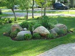 Rock For Garden Big Rocks For Garden Easy Ideas For Landscaping With Rocks Autour