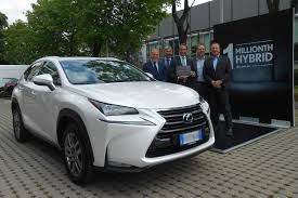 lexus luxury van lexus has sold 1 million luxury hybrid vehicles in 11 years