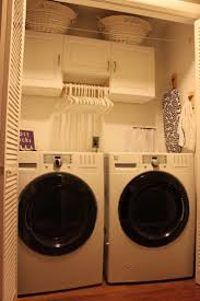 cute little laundry closet makeover i have a similar upstairs