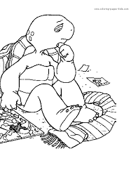 Franklin Color Page Coloring Pages For Kids Cartoon Characters Franklin Coloring Pages