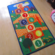 children area rugs tips let your kids play the classic game with hopscotch rug