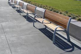 camber bench outdoor forms surfaces