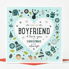 christmas card boyfriend love only 1 99