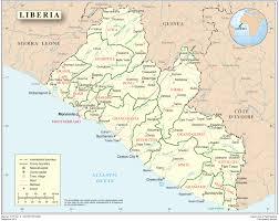 Senegal Map Liberia Ebola Africa U0027s Response Guinea Liberia Mali