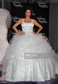 Wedding Dresses 2011 Kim Kardashian Wax Figure Unveiled In Wedding Dress At Madame