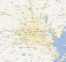 Houston Maps Houston And Surrounding Area Map Indiana Map