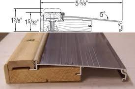 Replacing An Exterior Door Threshold Homeofficedecoration Exterior Door Threshold Replacement