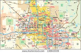 az city map arizona map stock images royalty free images vectors